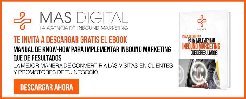 Descargar eBook Inbound Marketing por Mas Digital